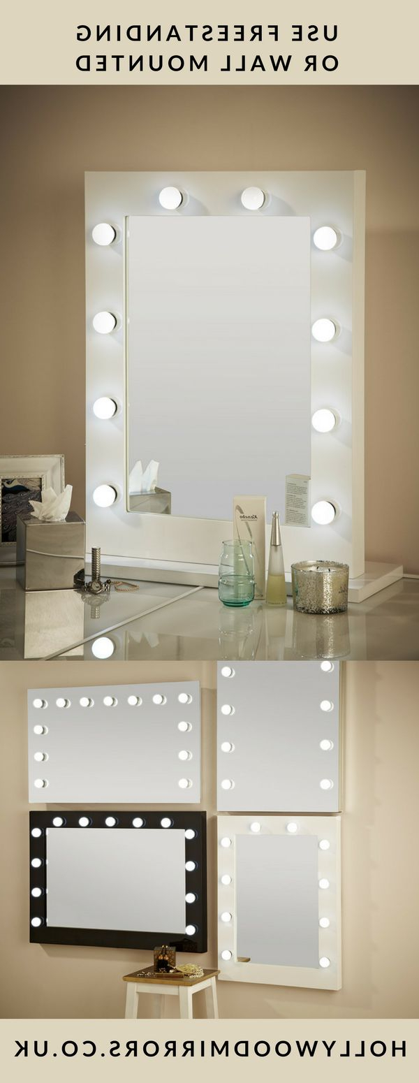 Light Up Wall Mirrors Inside 2019 Top 33 Beautiful Makeup Mirror With Lights Around It Mirrors Light (View 6 of 20)