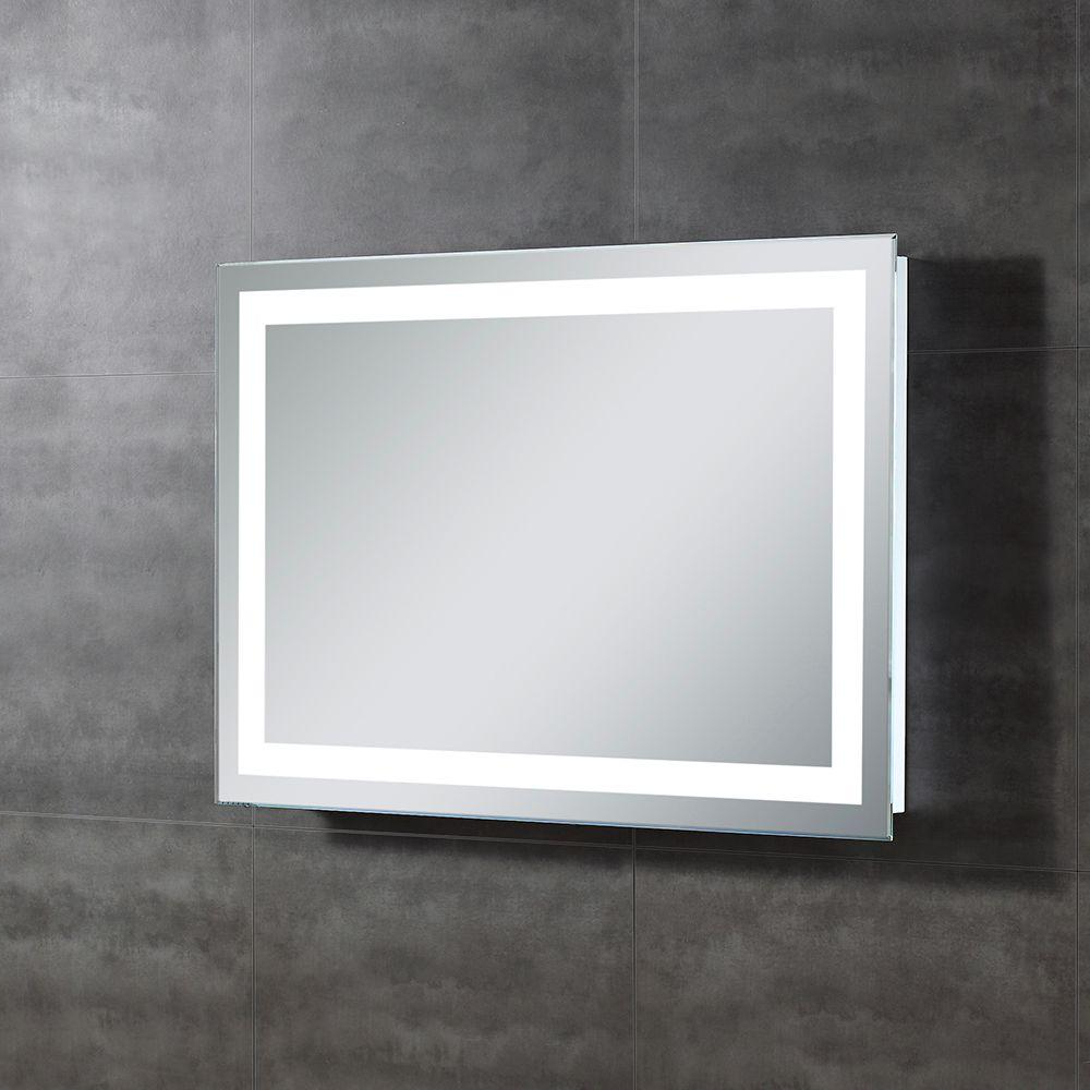 Light Up Wall Mirrors Intended For Most Popular Ove Decors Helios 28 In. L X 39 In (View 7 of 20)