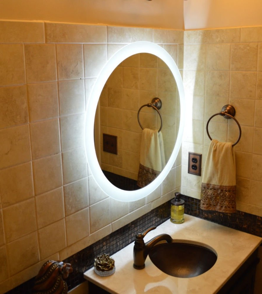 Light Up Wall Mirrors With Regard To Widely Used Light Up Wall Mirror Led Grow Light Depot Light Up Wall Mirror Bathroom (View 10 of 20)