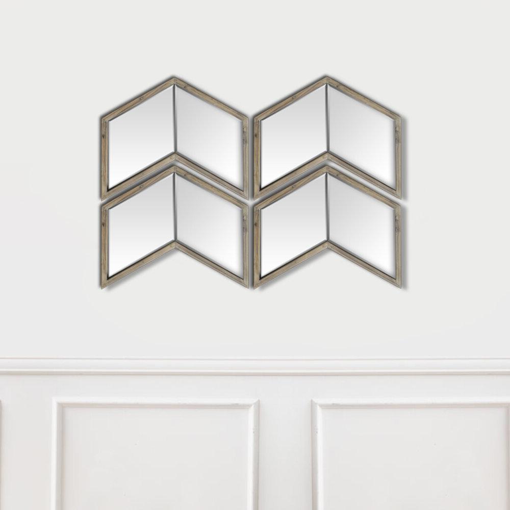 Light Walnut Wood Wall Mirror For Trendy Walnut Wood Wall Mirrors (Gallery 18 of 20)