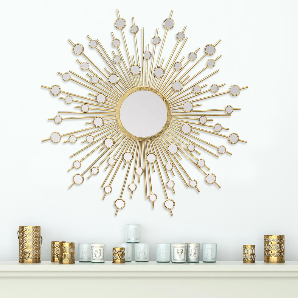Lighted Throughout Decorative Cheap Wall Mirrors (View 14 of 20)
