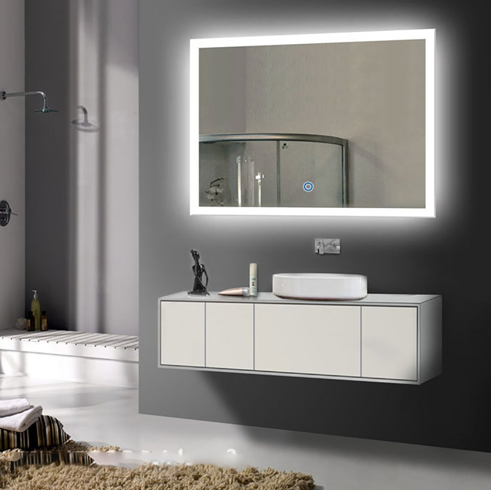 Lighted Vanity Wall Mirrors With Regard To Most Recent Cheap Lighted Wall Makeup Mirror, Find Lighted Wall Makeup Mirror (View 9 of 20)