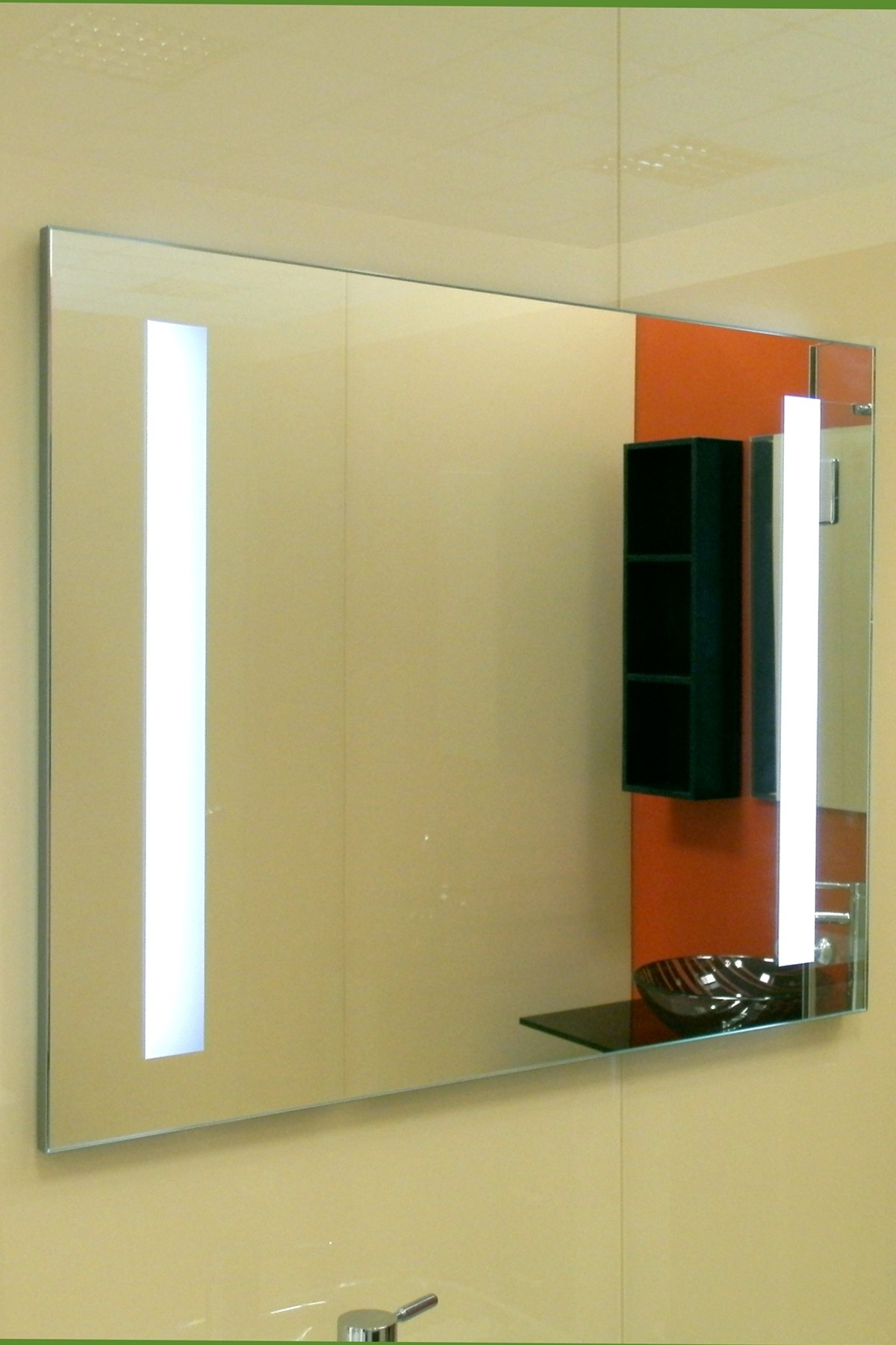 Lighted Wall Mirrors For Bathrooms Within Most Recently Released Lux Standard Hl Code: Hl 2105 (Gallery 15 of 20)