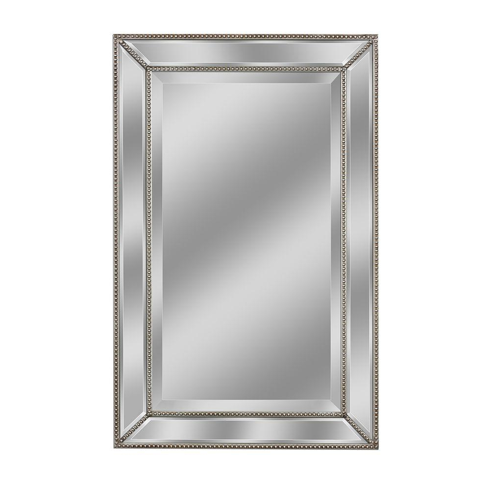 Lightweight Wall Mirrors Within 2020 Details About Bathroom Mirror Wood Frame Fog Proof Durable Wall Mounted  Light Weight Sturdy (View 12 of 20)