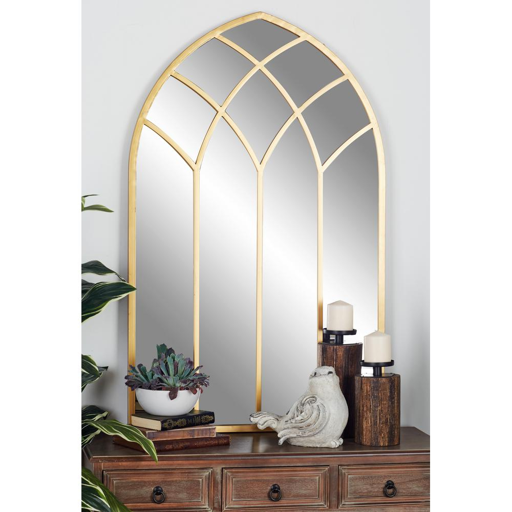 Featured Photo of Gold Arch Wall Mirrors