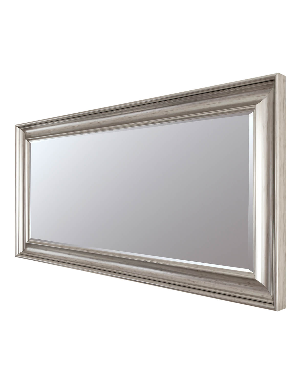 Long Silver Wall Mirrors For Widely Used Luxe Silver 77x138cm Long Wall Mirror (View 3 of 20)