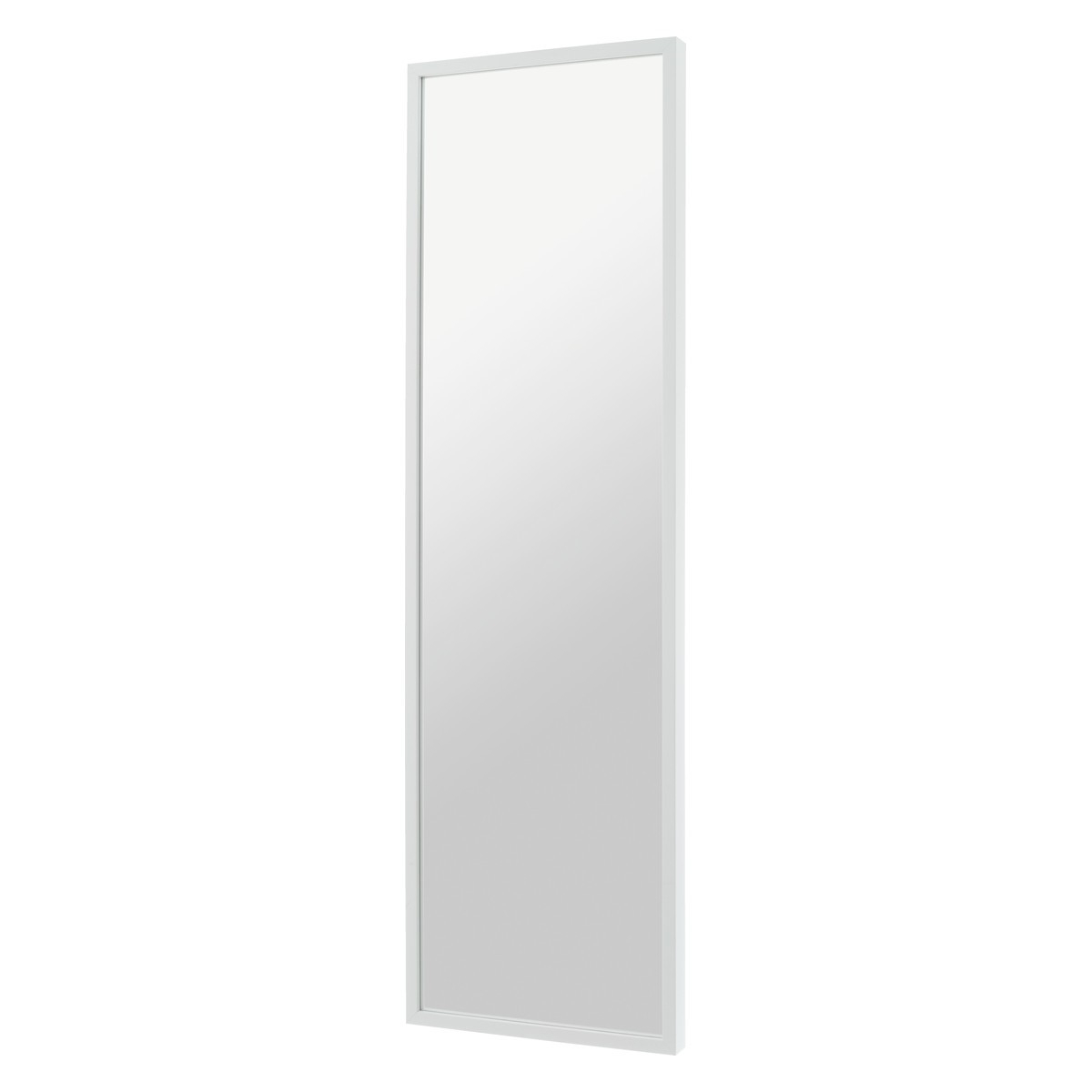 Long White Wall Mirrors Inside 2020 White Birch 40 X 140cm White Full Length Wall Mirror (View 8 of 20)