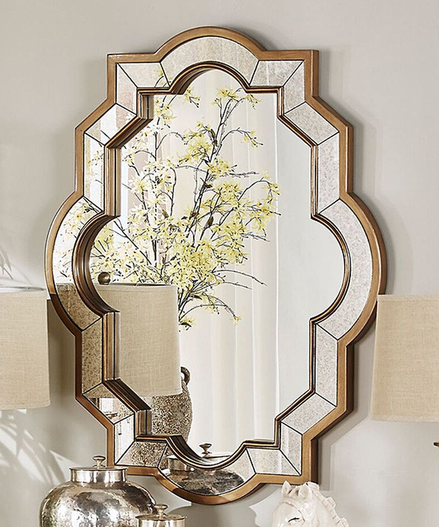 Look At This Bella Quatrefoil Wall Mirror On #zulily Today With Preferred Quatrefoil Wall Mirrors (Gallery 2 of 20)