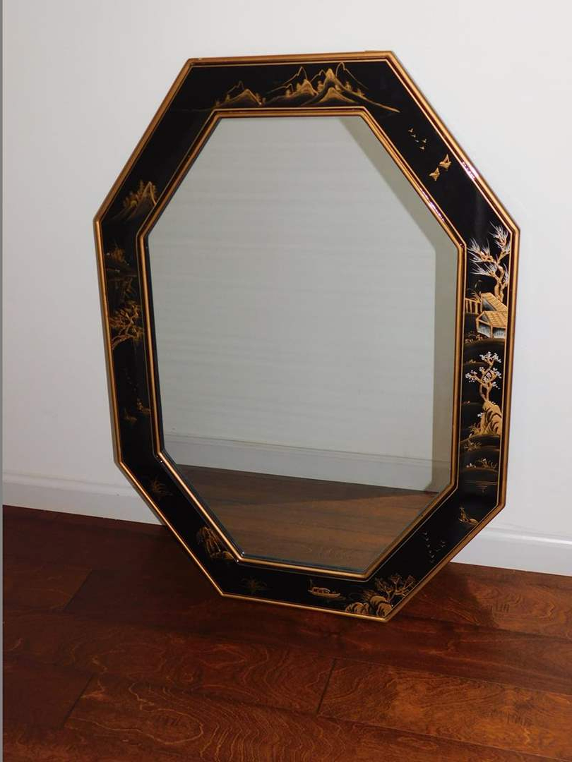 Lot 7 – Wall Mirror With Asian Style Auctionsac Valley Auctions With Trendy Asian Style Wall Mirrors (View 19 of 20)
