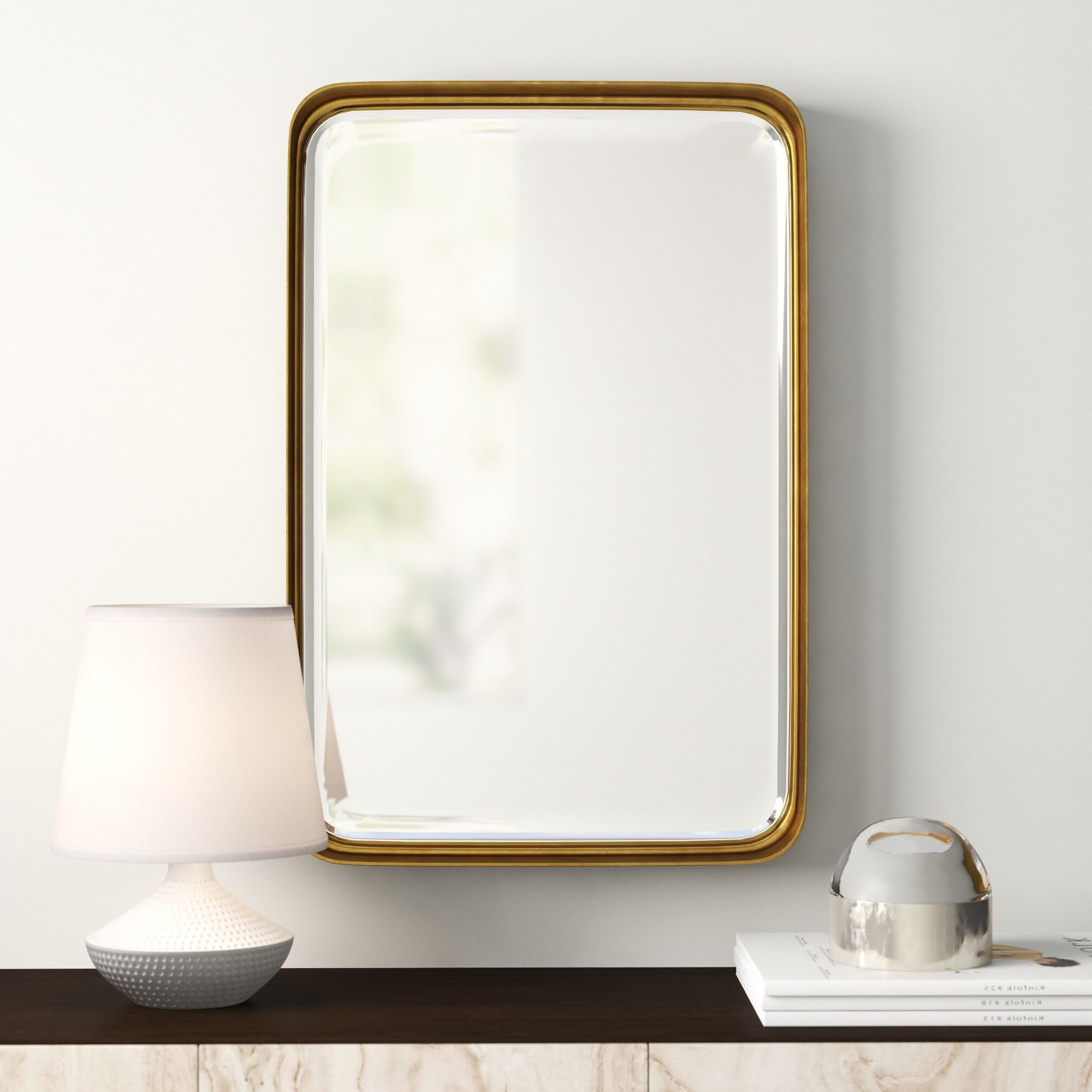 Lugo Rectangle Accent Mirrors Regarding Recent Mercury Row Lugo Rectangle Accent Mirror (Gallery 3 of 20)