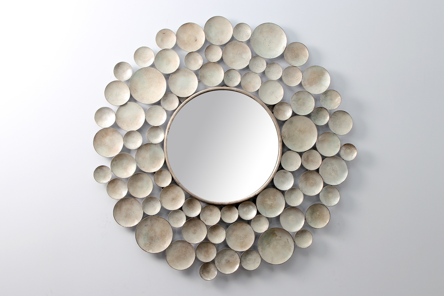 Luxury Wall Mirrors Pertaining To Latest Sputnik Wall Mirror / Wall Sculpture (View 13 of 20)