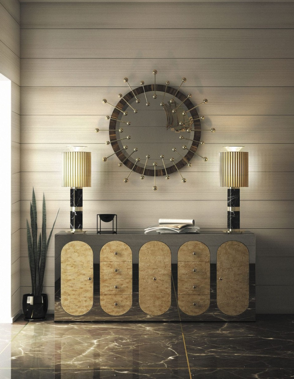 Luxury Wall Mirrors Pertaining To Recent 8 Luxury Wall Mirrors For Your Dining Room (View 14 of 20)