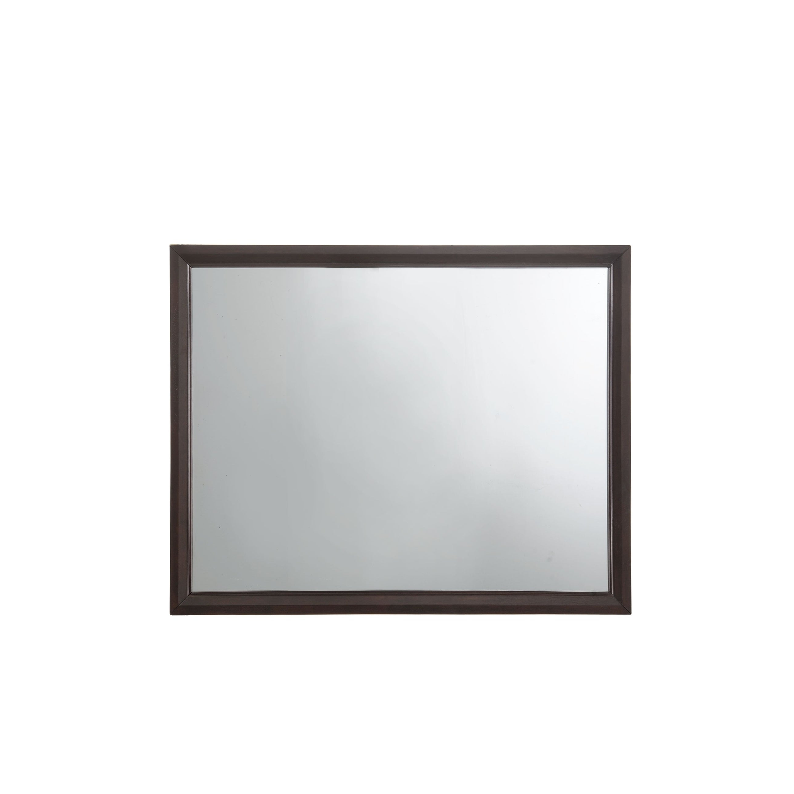 Madison Espresso Rectangle Wall Mirror In Well Known Espresso Wall Mirrors (View 4 of 20)