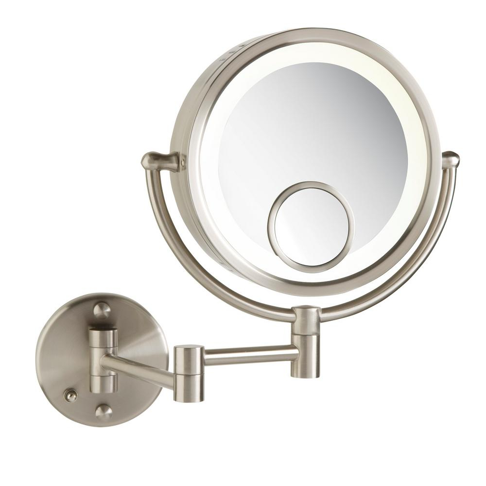 Magnifying Wall Mirrors With Well Known Jerdon 11 In. X 14 In (View 6 of 20)