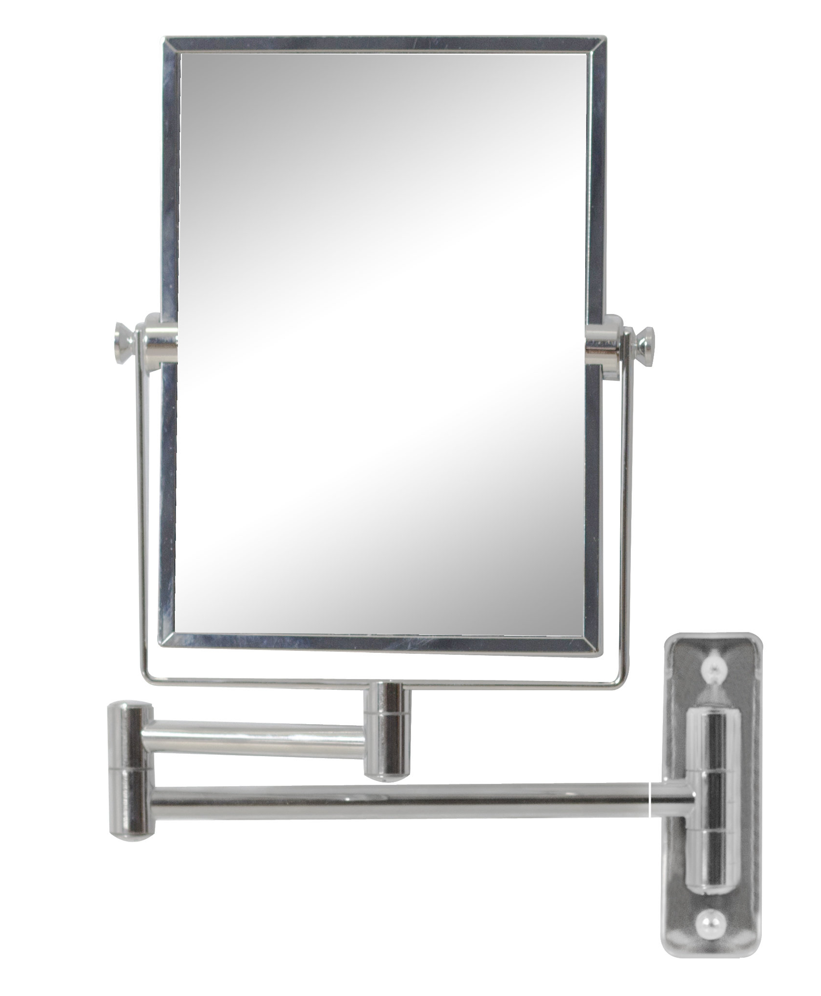 Magnifying Wall Mirrors Within Most Recently Released Myndi Rectangle Brass Mirror Wall Mount Magnifying Wall Mirror (View 17 of 20)