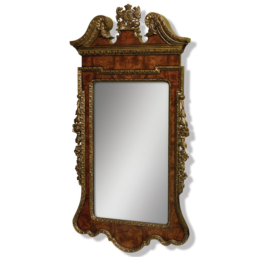 Mahogany Wall Mirrors With Widely Used Mahogany Gilt Mirror (Gallery 11 of 20)