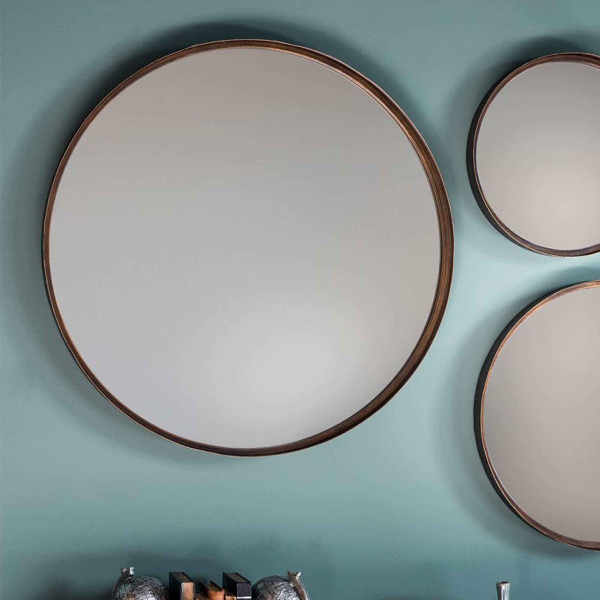 Marion Wall Mirrors Pertaining To Popular Reading Round Mirror (2 Pack) (View 13 of 20)