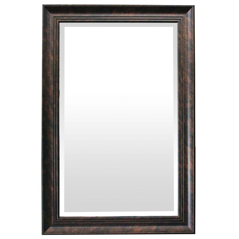 Maude Accent Mirrors For Trendy Yosemite Home Decor Mirror Frame In Dark Bronze Color (View 10 of 20)