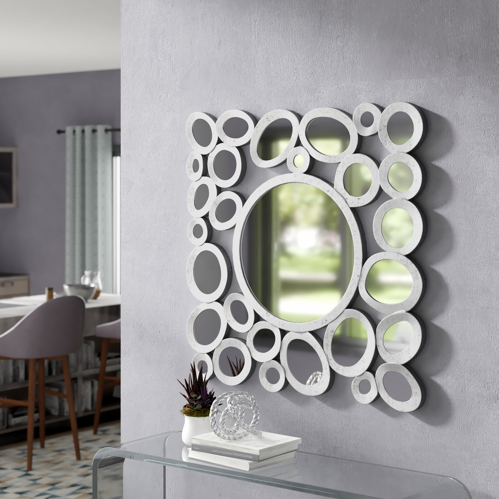Mcnary Accent Mirrors With Regard To Trendy Arae Modern & Contemporary Accent Mirror (View 10 of 20)