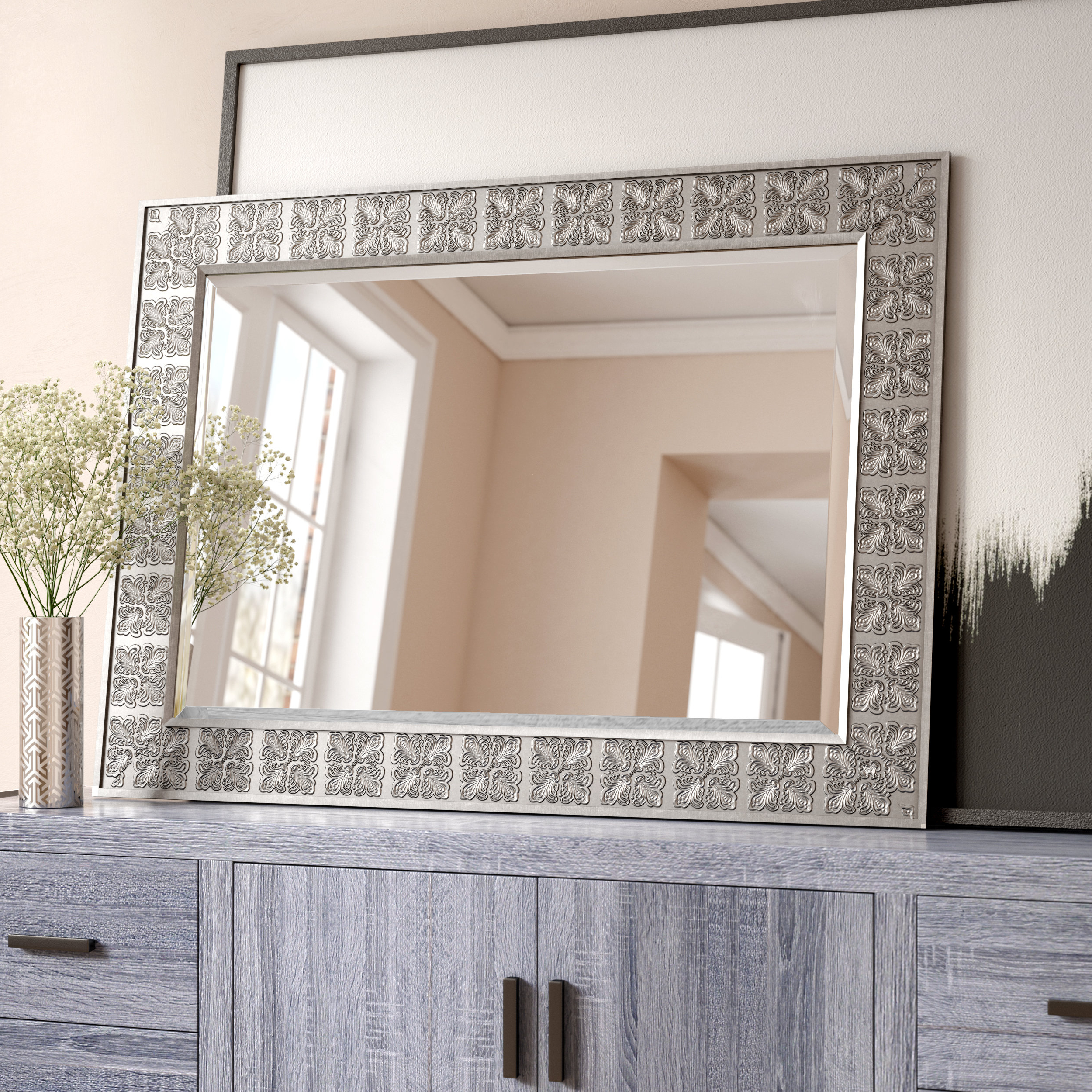 Medallion Accent Mirror With Regard To Famous Abdul Accent Mirrors (View 14 of 20)