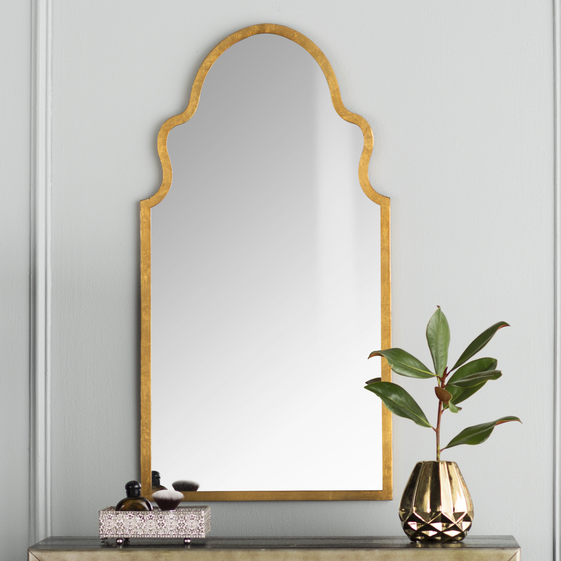 Menachem Modern & Contemporary Accent Mirror Pertaining To Most Current Astrid Modern & Contemporary Accent Mirrors (View 2 of 20)