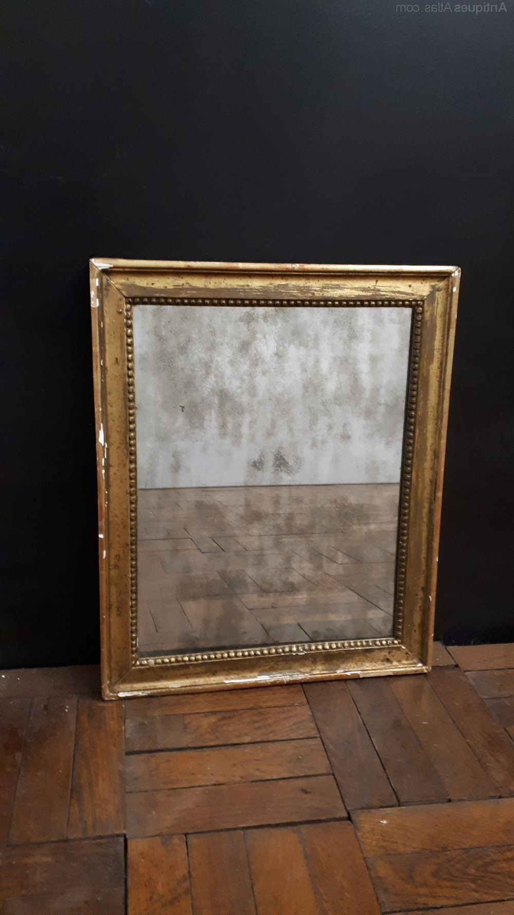 Mercury Glass Wall Mirrors With Most Up To Date Antiques Atlas – Mercury Glass French 1800S Wall Mirror (View 12 of 20)