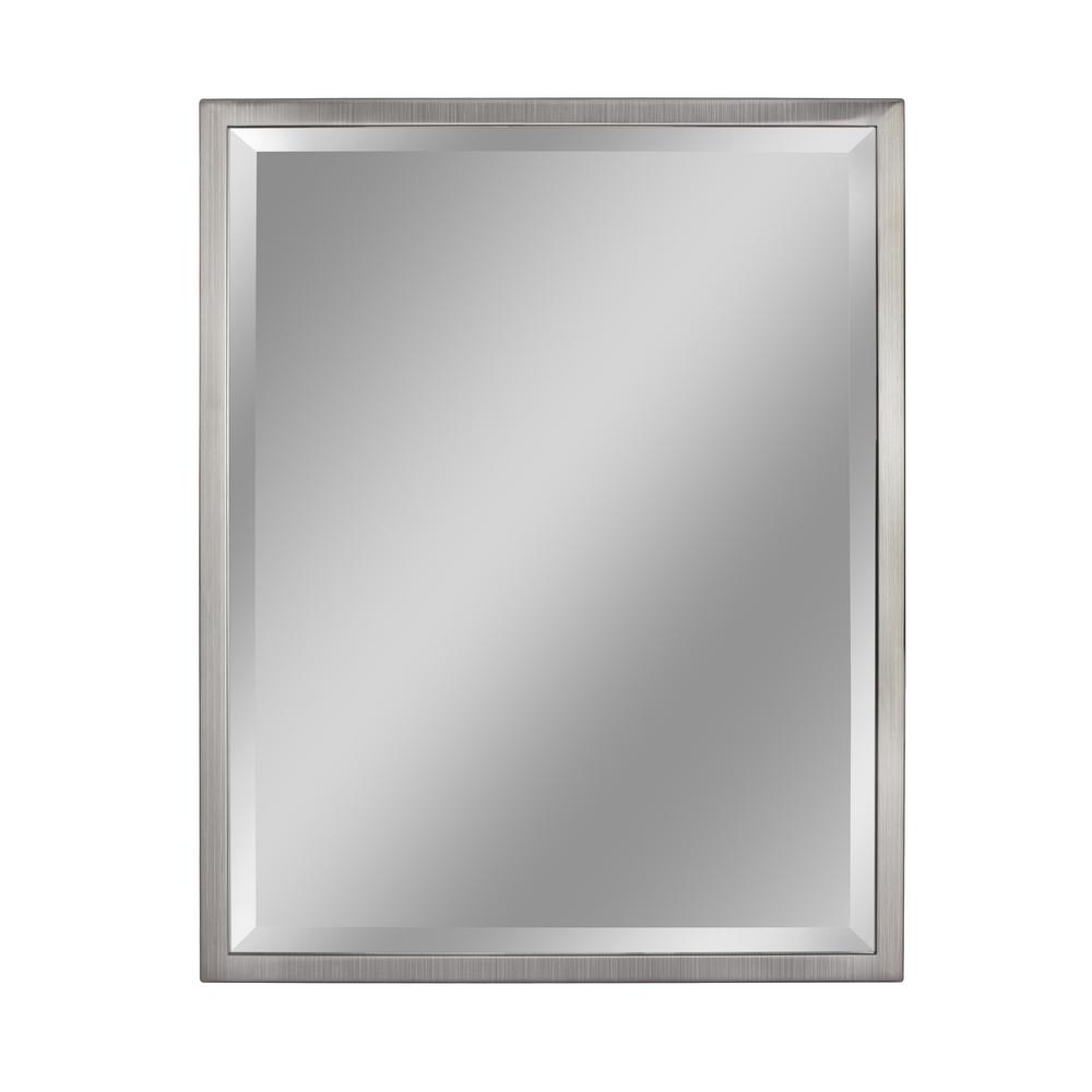 Metal Frame Wall Mirrors Regarding 2020 Deco Mirror 24 In. W X 30 In. H Classic 1 In (View 14 of 20)