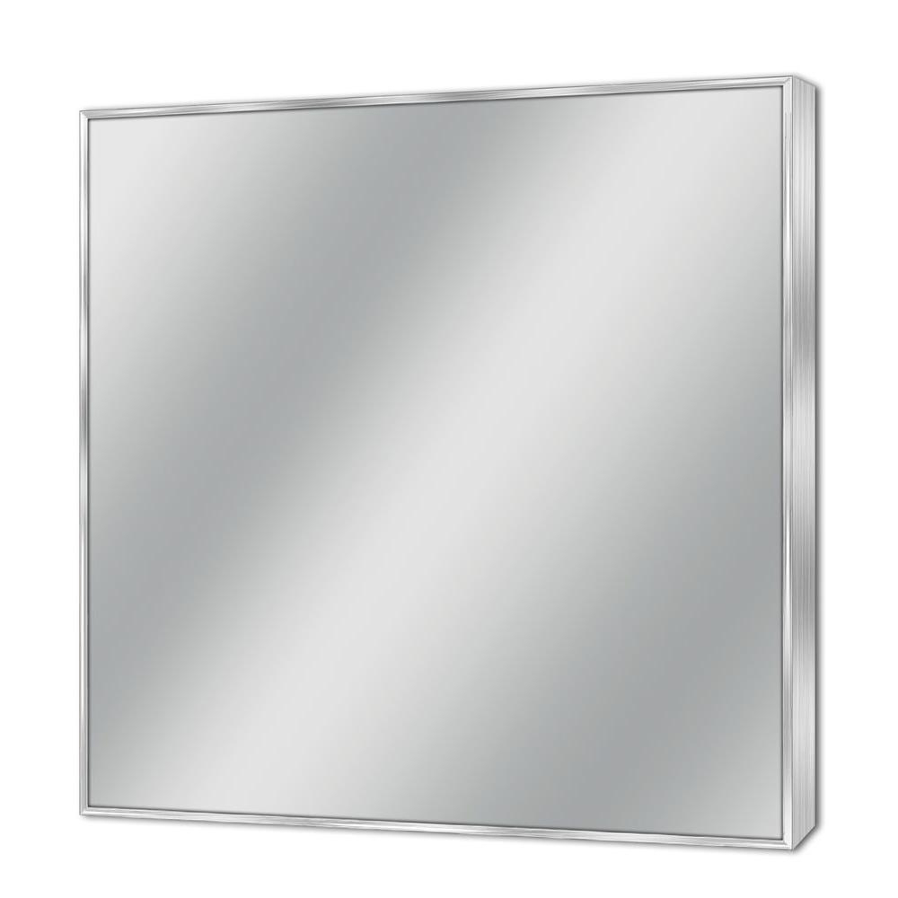 Metal Frame Wall Mirrors Regarding Famous Deco Mirror 30 In. W X 36 In (View 10 of 20)