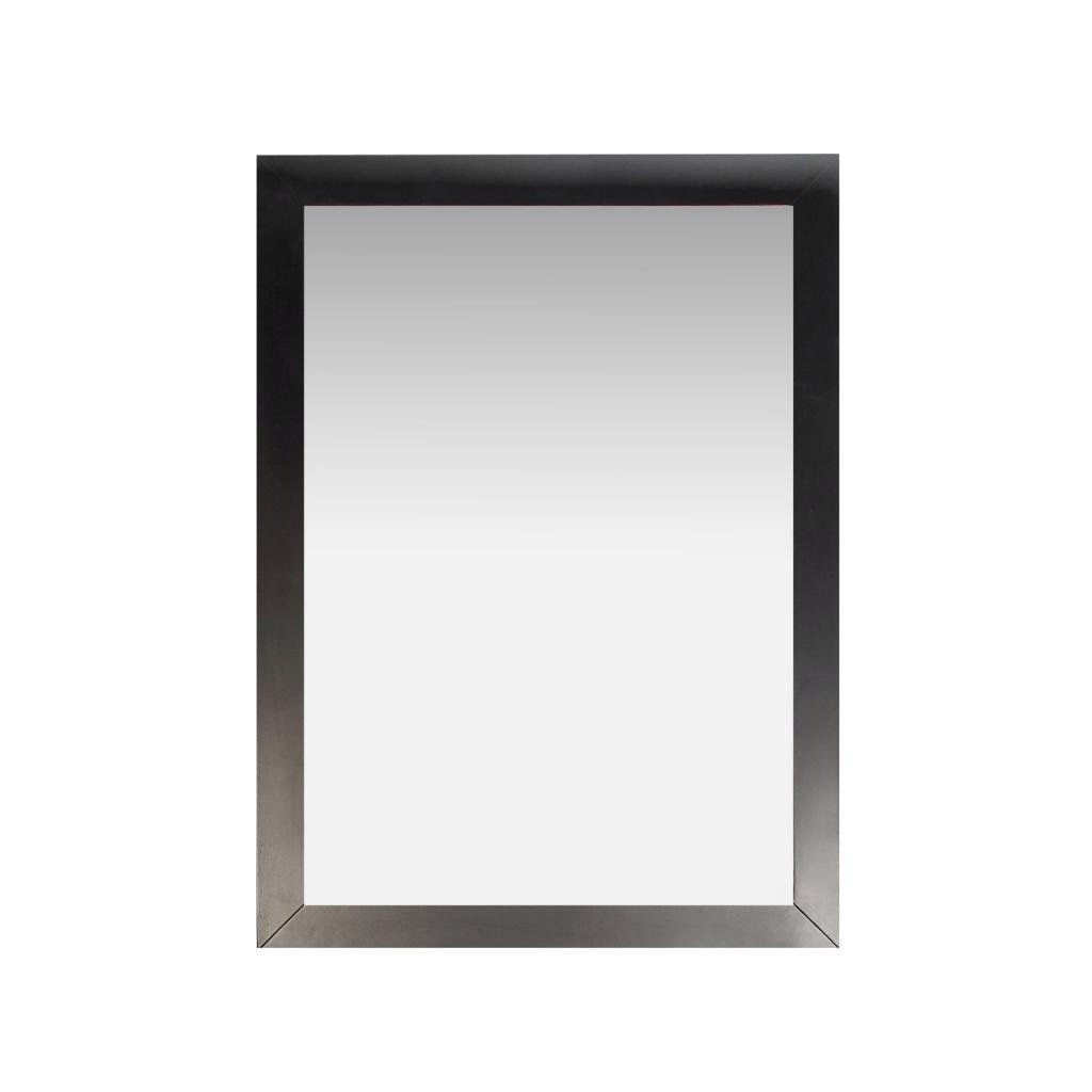 Mexborough Bathroom/vanity Mirrors Within 2019 Modern 22 Inch X 30 Inch Bathroom Vanity Wall Mirror With Black Wood (View 17 of 20)