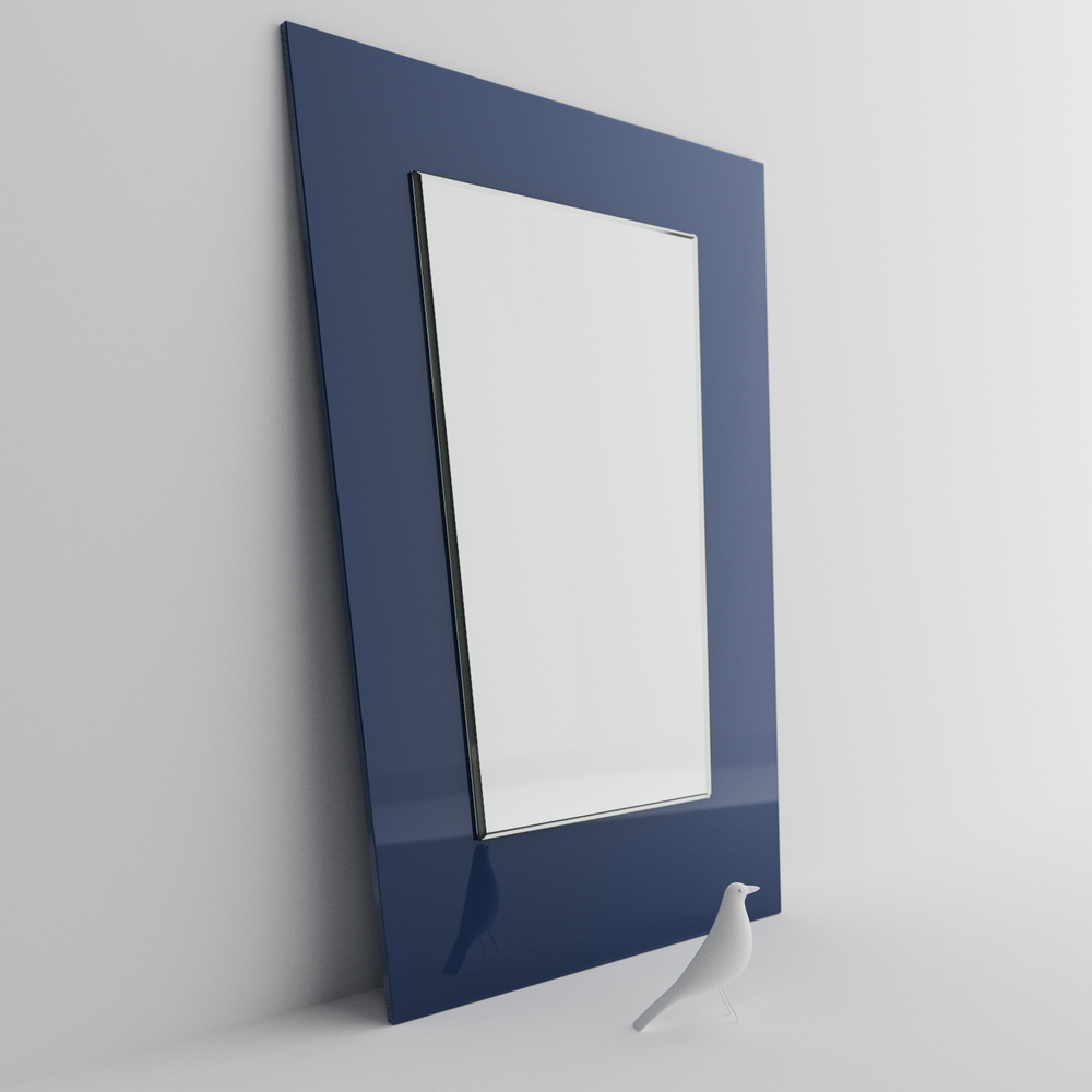 Mid Century Modern Wall Mirrors With 2019 Mid Century Blue Wall Mirrors – Vintage And Reproduction 50s (View 11 of 20)