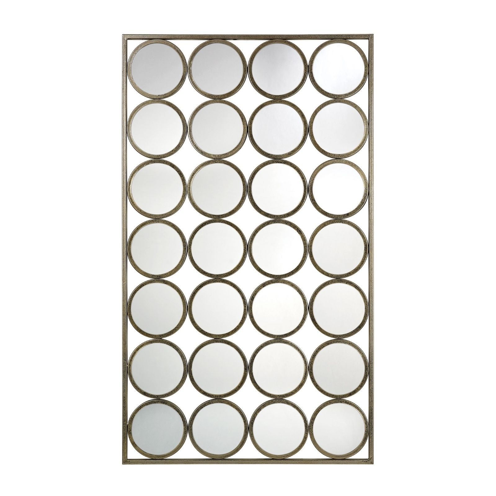 Mid Century Wall Mirrors Intended For Widely Used Mid Century Modern Retro Circles Circular And 50 Similar Items (Gallery 9 of 20)