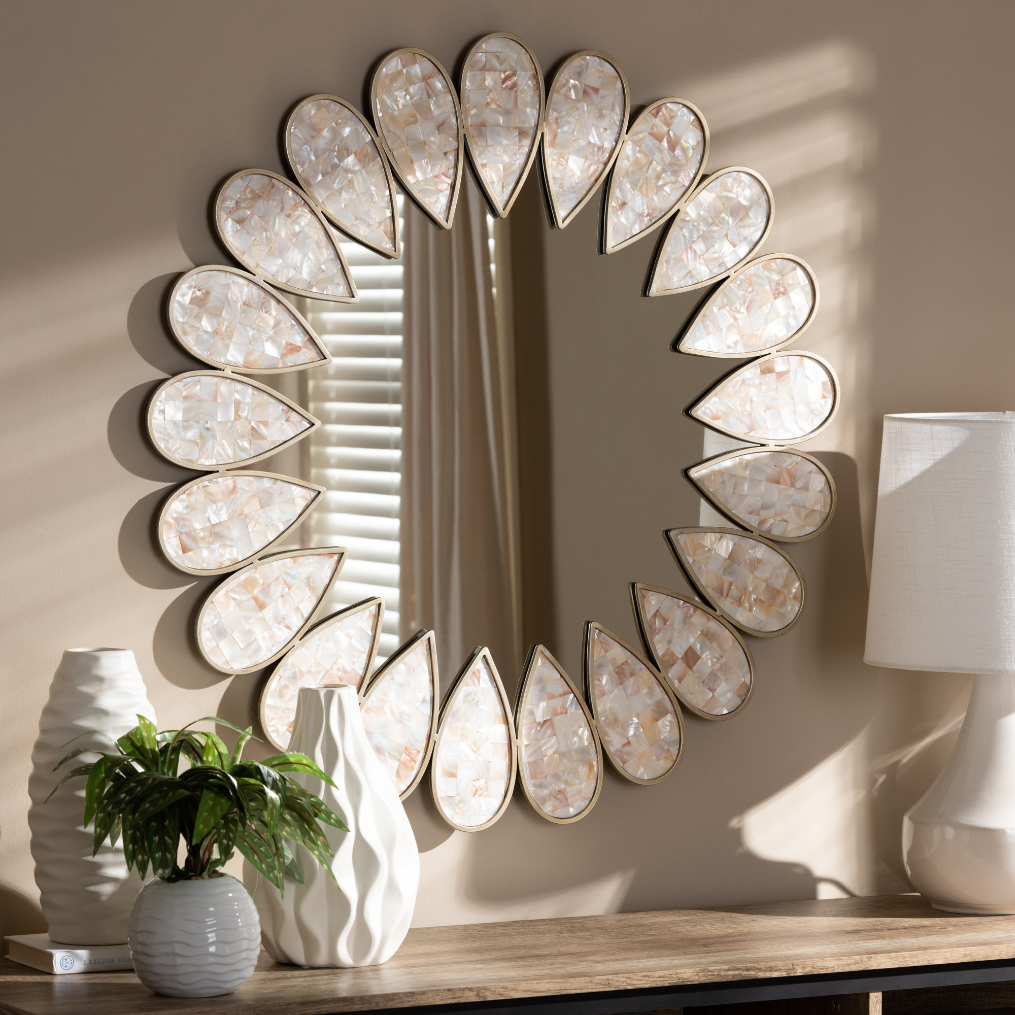 Migdalia Wall Mirror For Latest Polen Traditional Wall Mirrors (View 20 of 20)