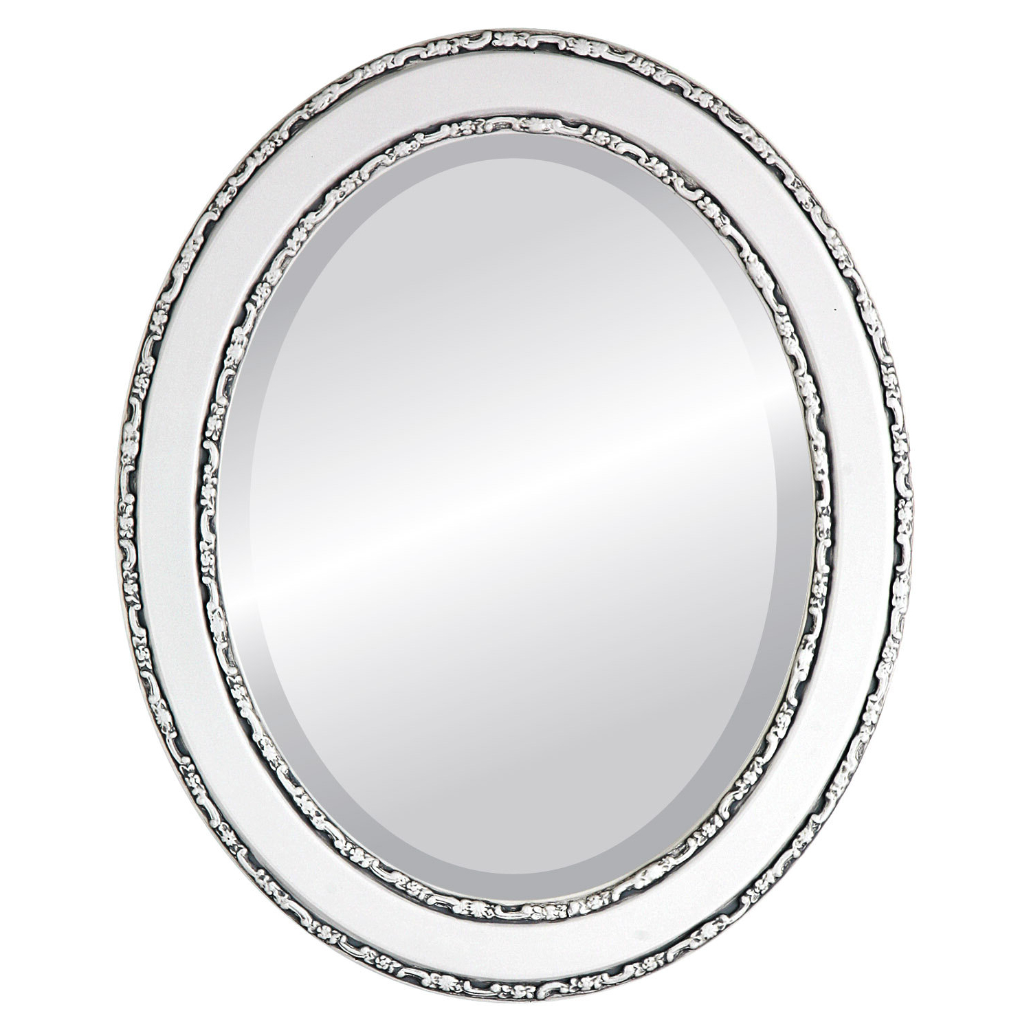 Minerva Oval Traditional Beveled Accent Mirror Pertaining To Popular Minerva Accent Mirrors (View 15 of 20)