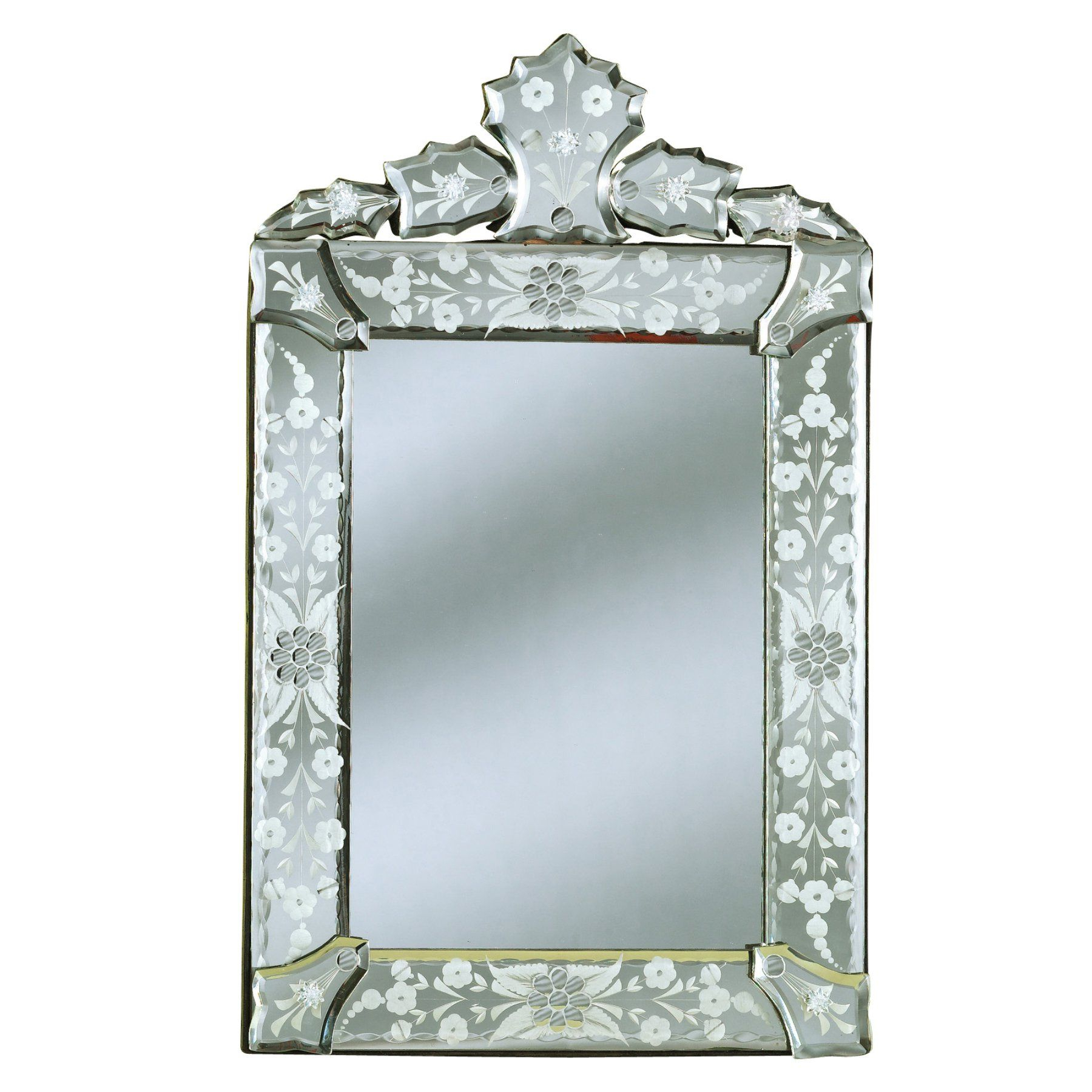 Mini Cecille Venetian Arch Wall Mirror – 11w X 18h In (View 20 of 20)