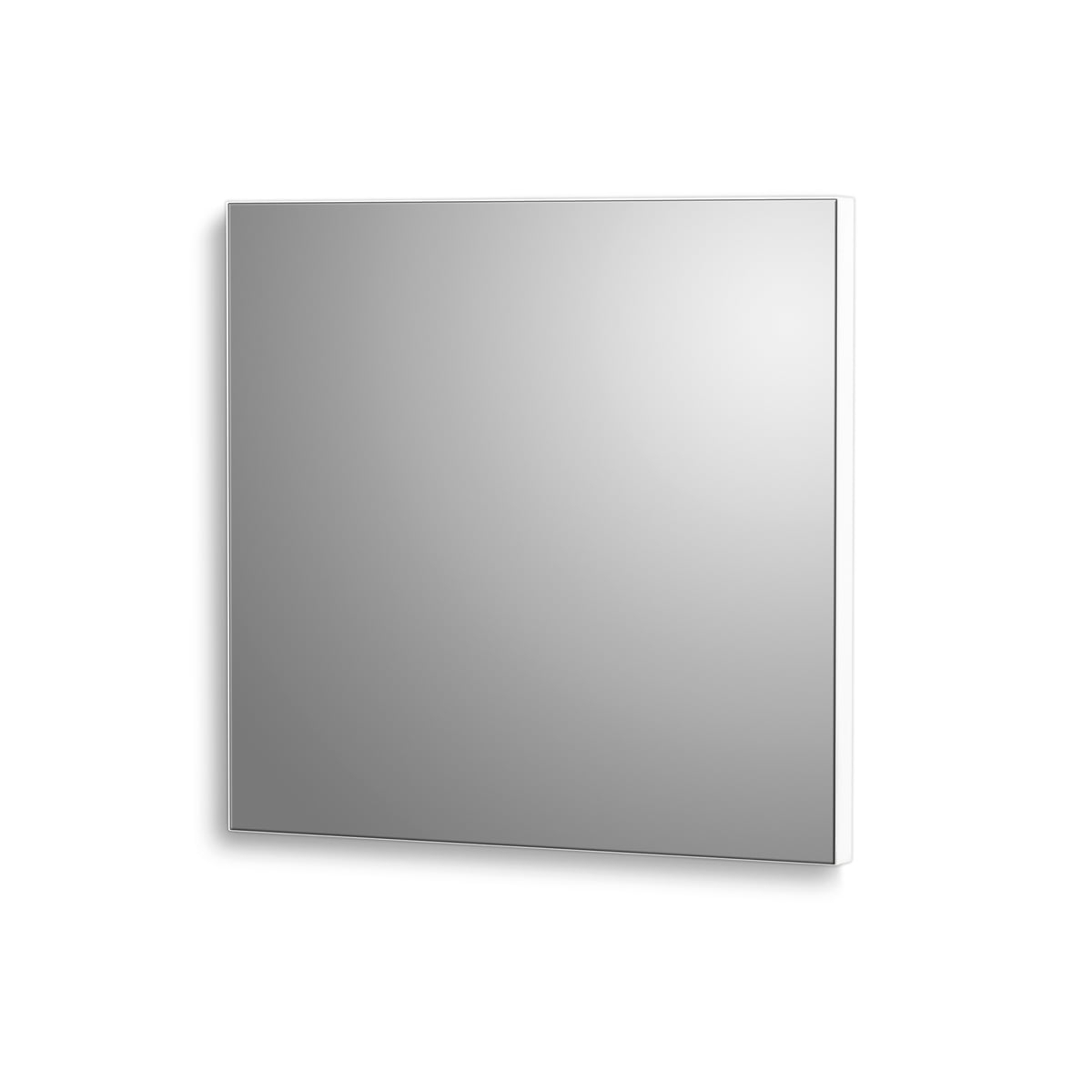 Mini Wall Mirrors Within Famous Verti Copenhagen – Verti Mirror Mini Wall Mirror, 15 X 15 Cm, White (View 1 of 20)