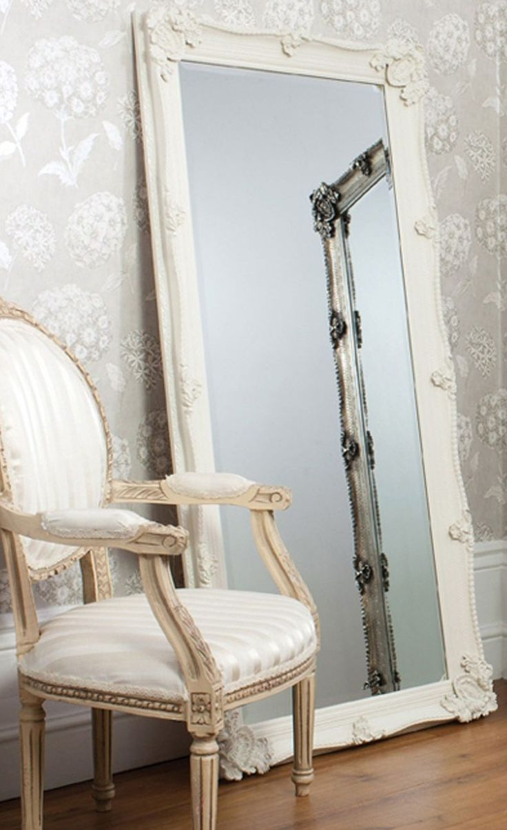 Mirror Amazing Shabby Chic Wall Mirrors Large Vintage Flea Inside Most Up To Date White Shabby Chic Wall Mirrors (View 10 of 20)