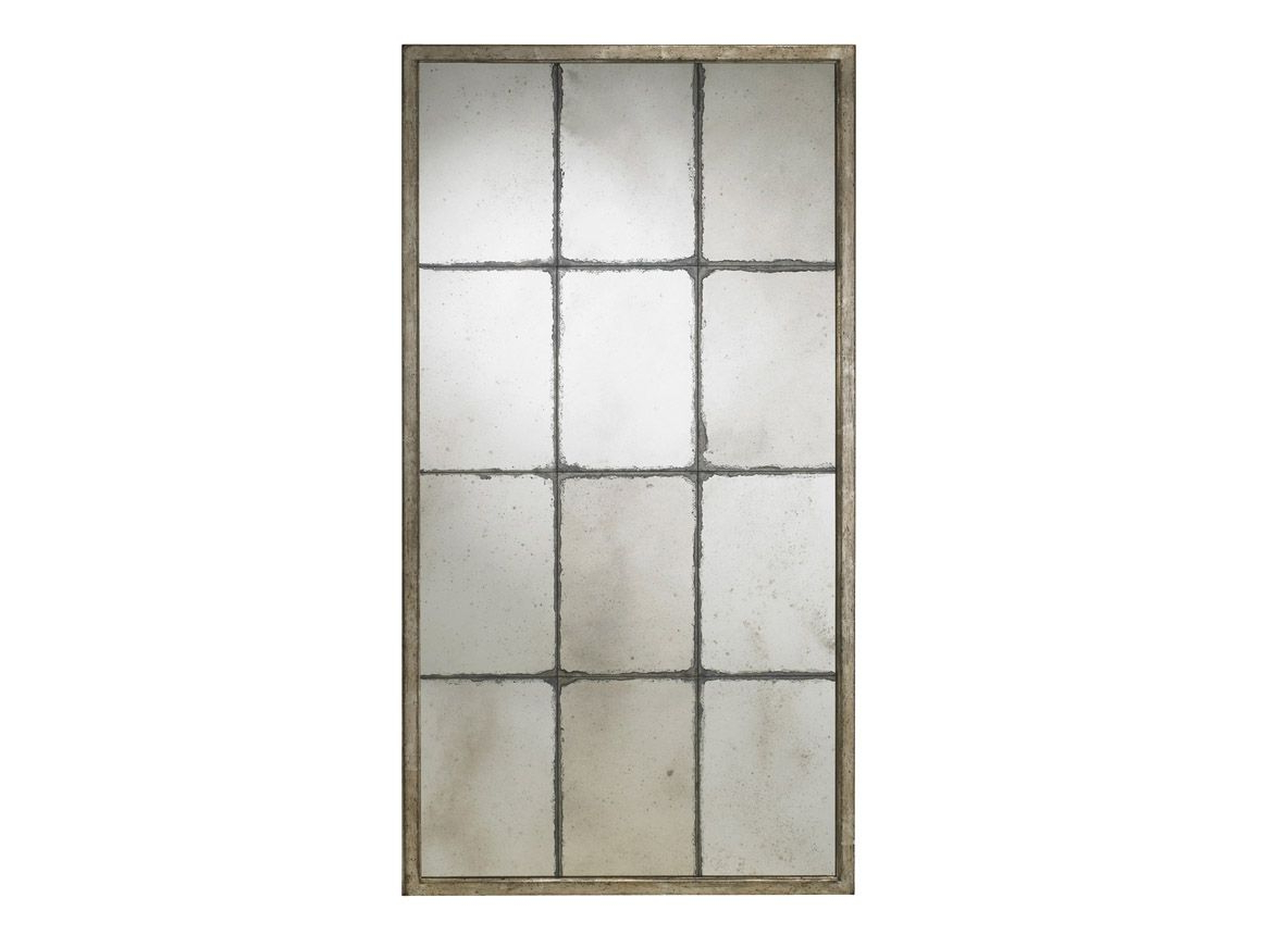 Mirror, Floor Throughout 2 Piece Priscilla Square Traditional Beveled Distressed Accent Mirror Sets (View 12 of 20)