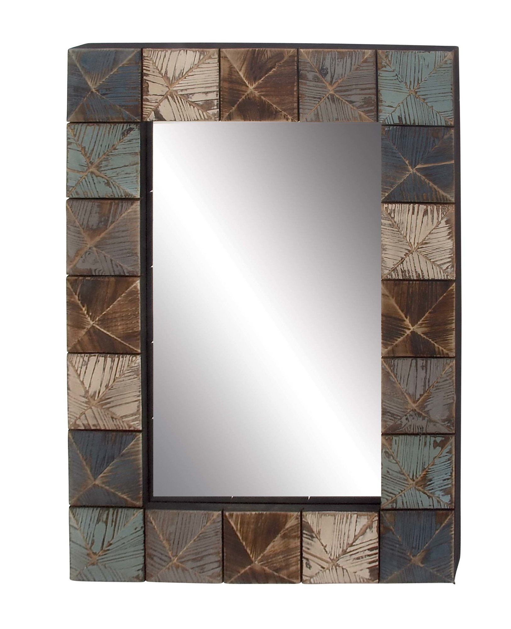 Mirror, Grey Wood, Mirrors Wayfair (View 6 of 20)