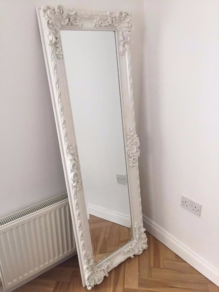 Mirror : Large Long Wall Mirrors Large Bedroom Mirror Leaner Mirror In Famous White Long Wall Mirrors (View 18 of 20)