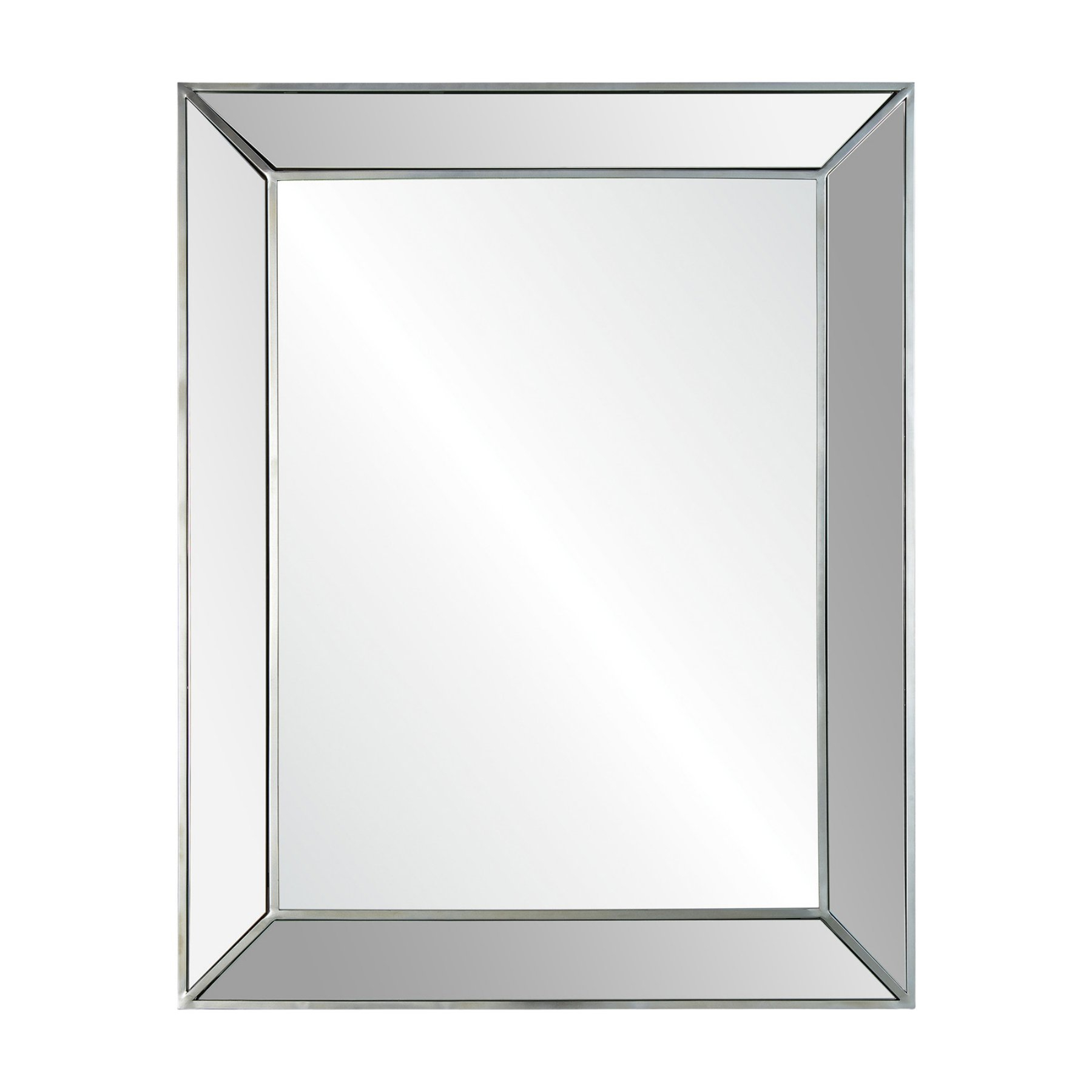 Mirror Pertaining To Koeller Industrial Metal Wall Mirrors (View 11 of 20)