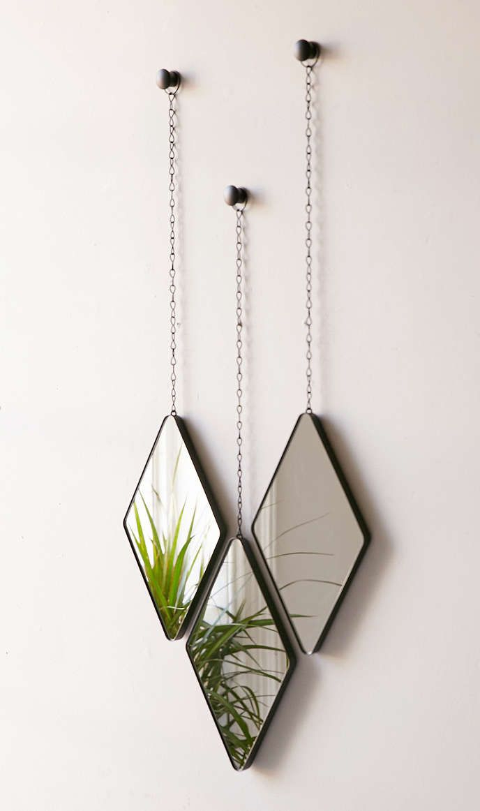 Mirror Set, Foyer Mirror Inside Famous 3 Piece Dima Hanging Modern & Contemporary Mirror Sets (View 4 of 20)