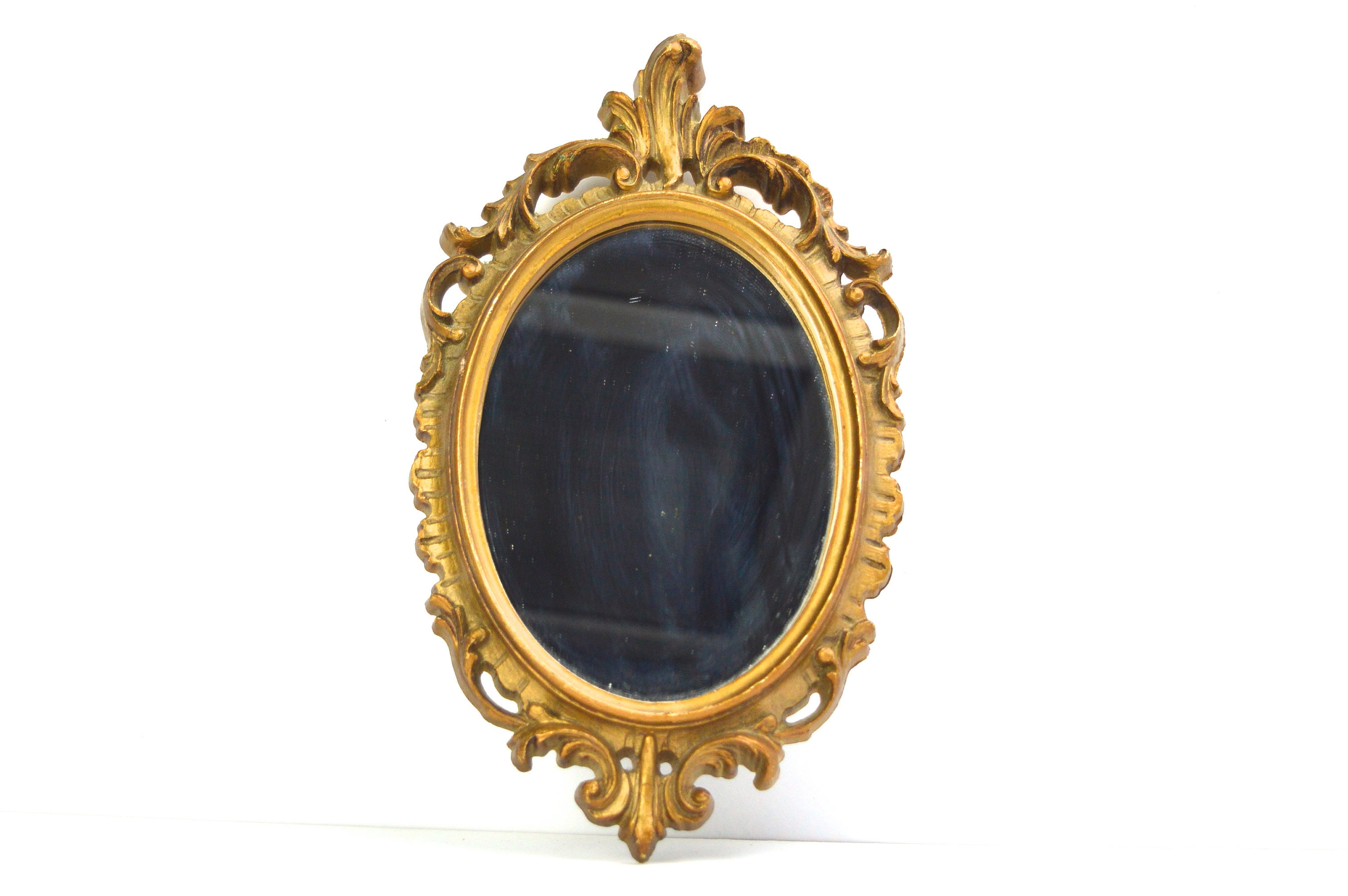 Mirror Small Oval Wall Mirror Filigree Frame Vintage Home Decor Pertaining To Most Recently Released Small Oval Wall Mirrors (View 15 of 20)