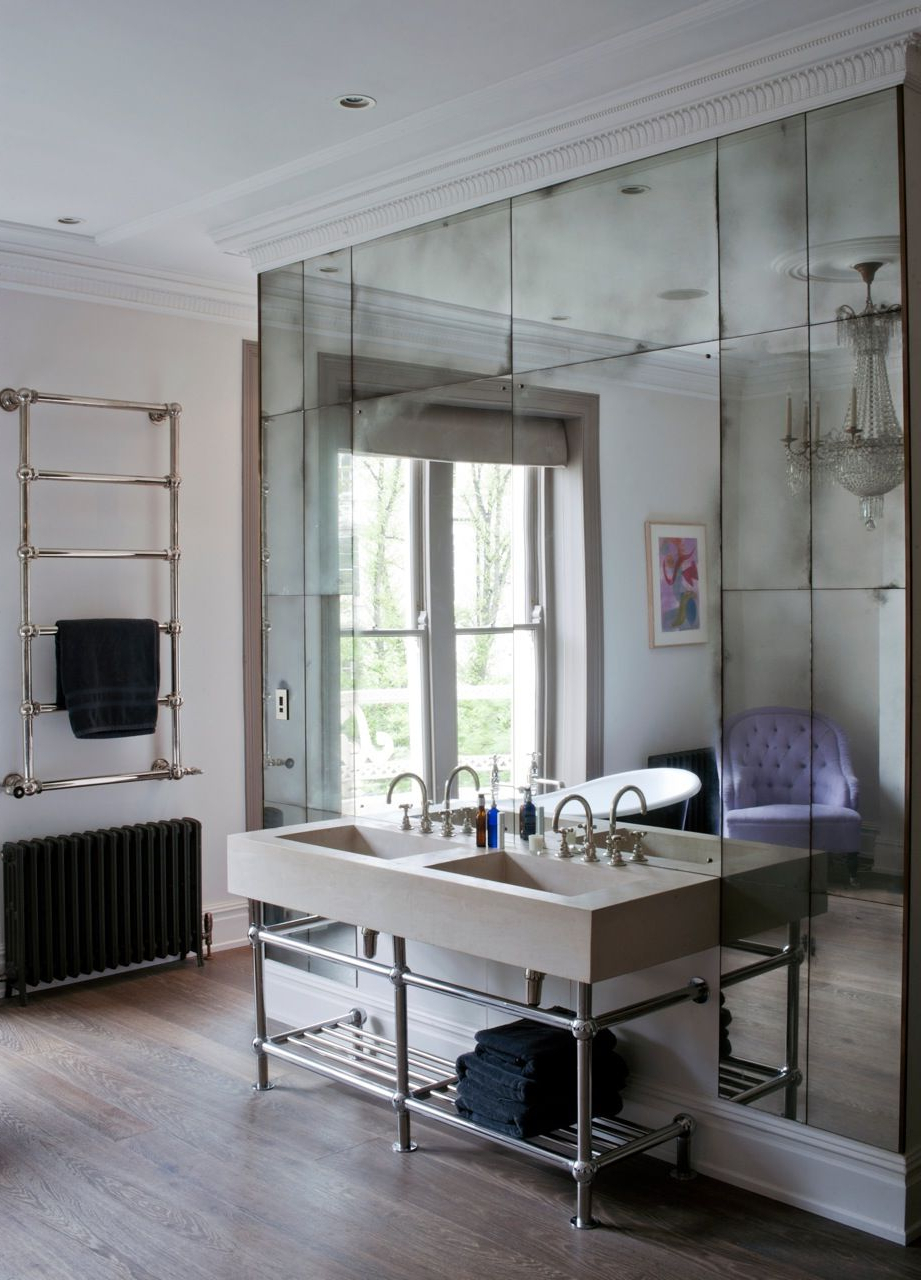 Featured Photo of Mercury Glass Wall Mirrors