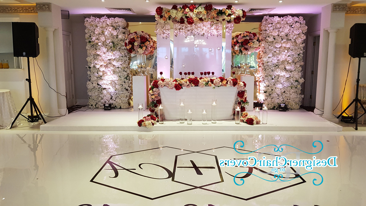 Mirrored Panel Flower Wall – Designer Chair Covers To Go In Most Up To Date Flower Wall Mirrors (View 16 of 20)