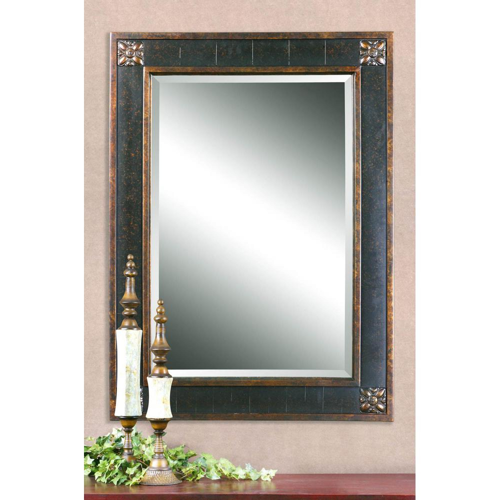 Mirrors In 2019 For Kristy Rectangular Beveled Vanity Mirrors In Distressed (View 8 of 20)