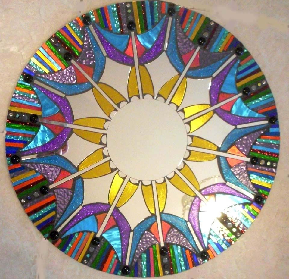 Mirrors Marvellous Colorful Wall Decorative Ornate Mirror Decoration Regarding Best And Newest Colorful Wall Mirrors (View 14 of 20)