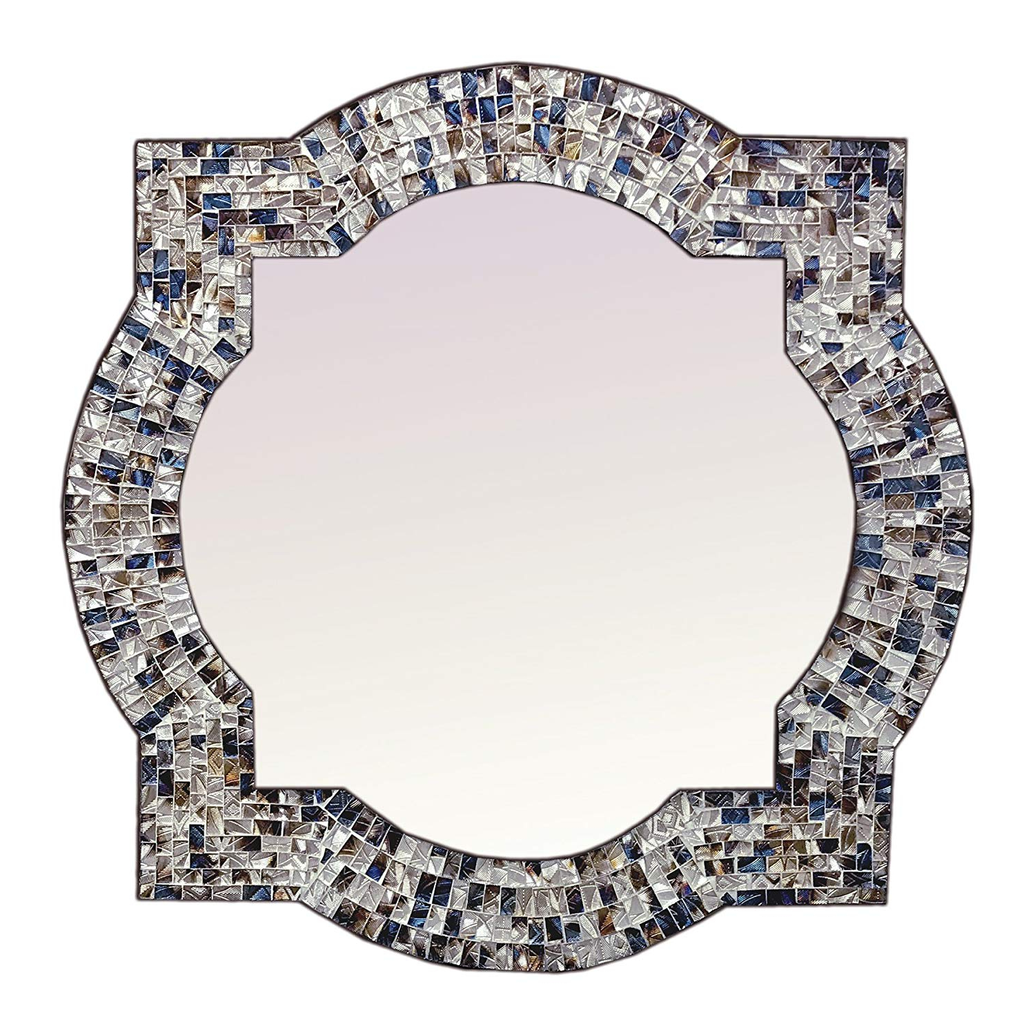 Mission Style Wall Mirrors Regarding Well Known Amazon: Decorshore Mission Style Quatrefoil Mirror (View 10 of 20)