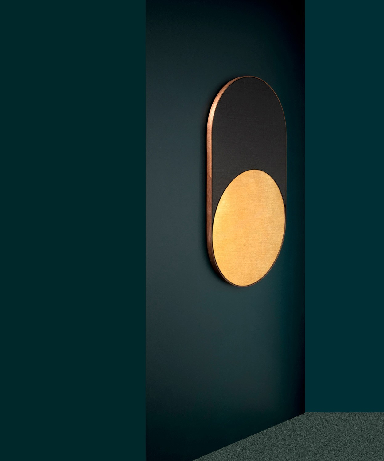 Modern Black Wall Mirrors With Most Up To Date Cylinder Mirror – Bower Studios (View 18 of 20)