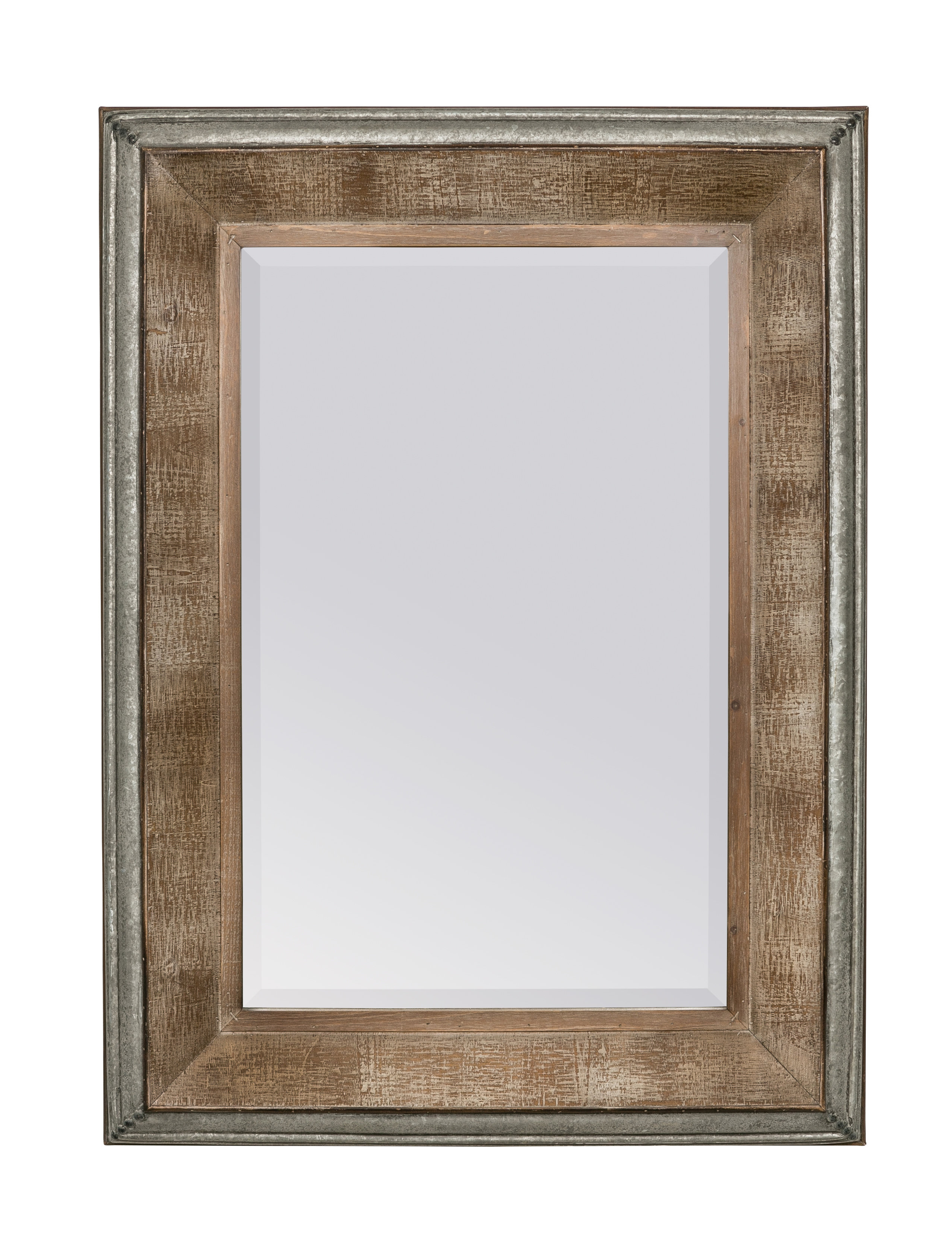Modern & Contemporary Beveled Accent Mirrors Throughout Most Recently Released Hatten Modern & Contemporary Beveled Accent Mirror (View 11 of 20)
