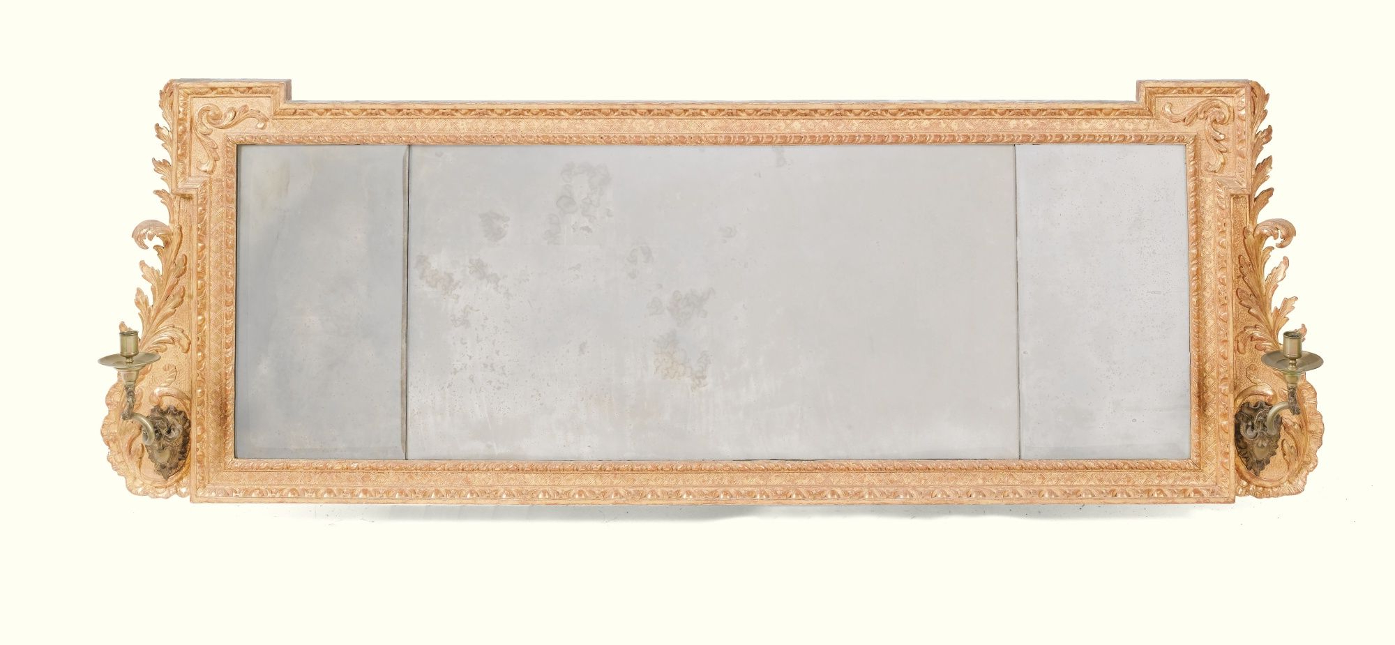 Modern & Contemporary Beveled Overmantel Mirrors Throughout Widely Used C1740 A George Ii Giltwood Overmantel Mirror Circa  (View 4 of 20)